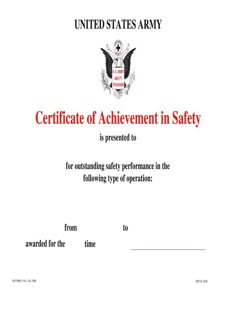 Download da Form 1119-1 Free