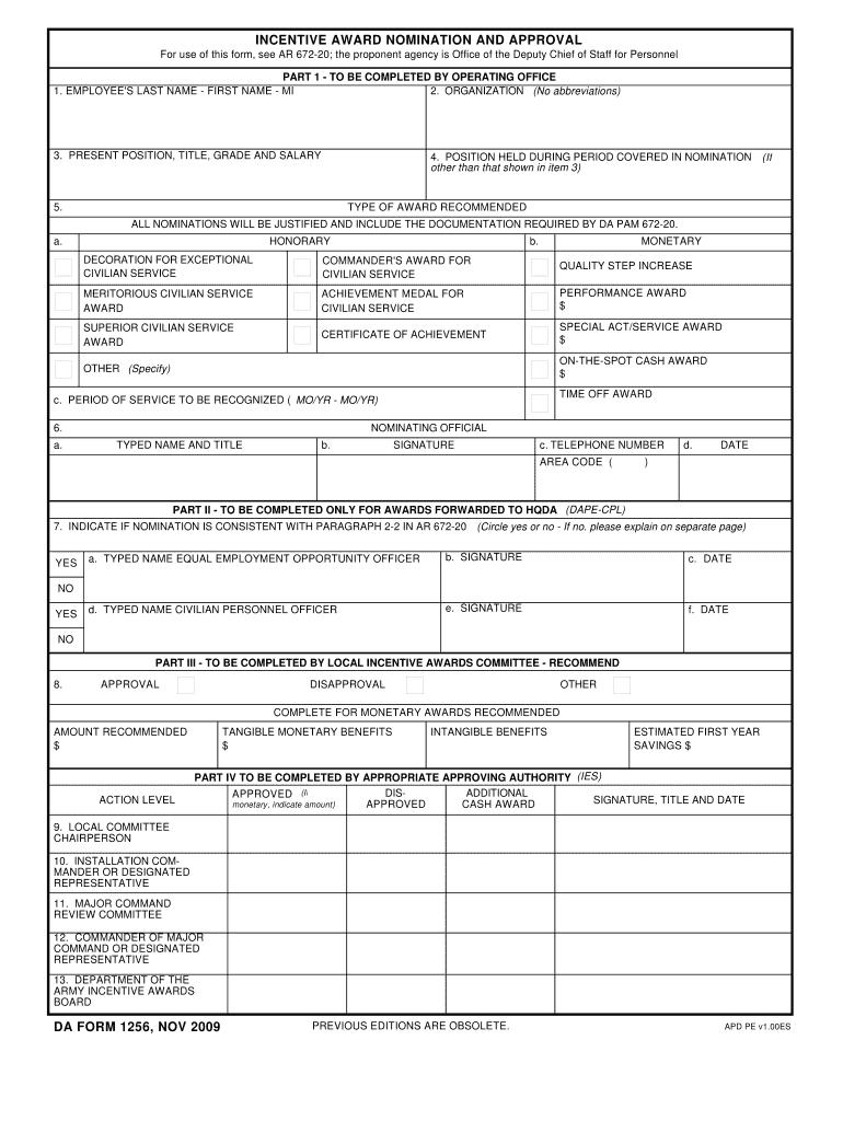 Download da Form 1256 Free
