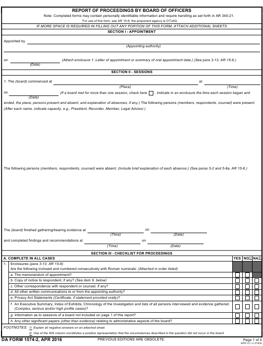 Download da Form 1574-2 Free