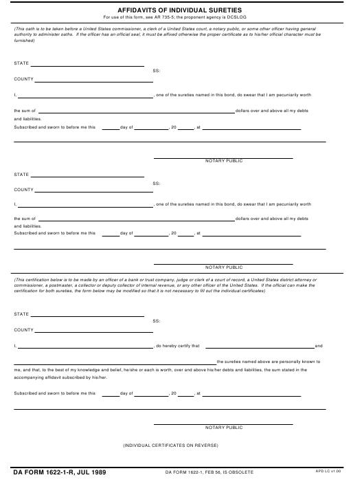 Download da Form 1622-1-R Free