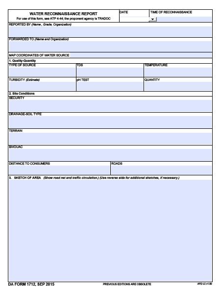 Download da Form 1712 Free