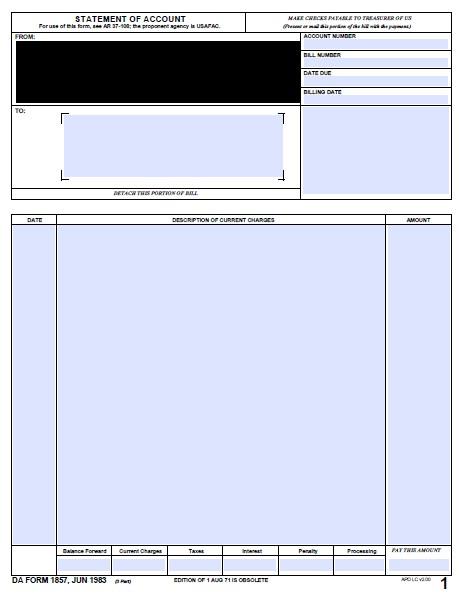 Download da Form 1857 Free