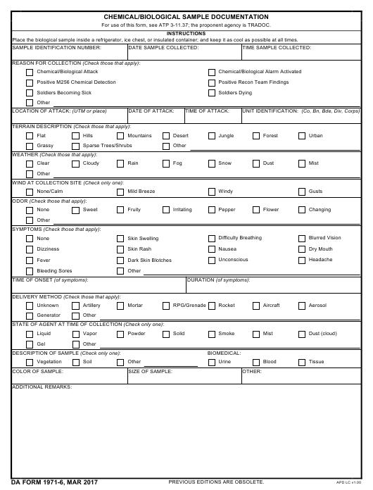 Download da Form 1971-6 Free