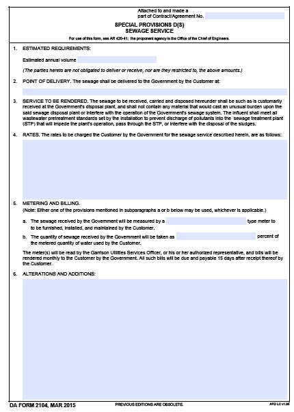 Download da Form 2104 Free