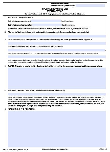 Download da Form 2105 Free