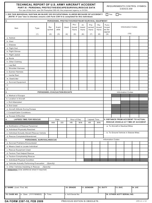 Download da Form 2397-10 Free