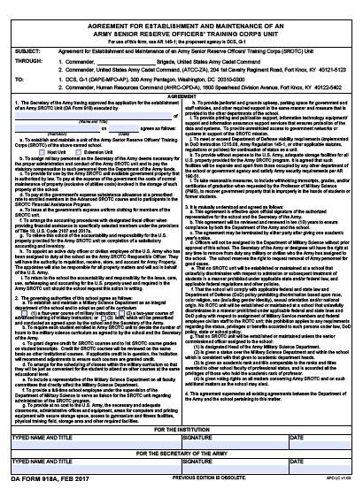 Download da Form 918A Free