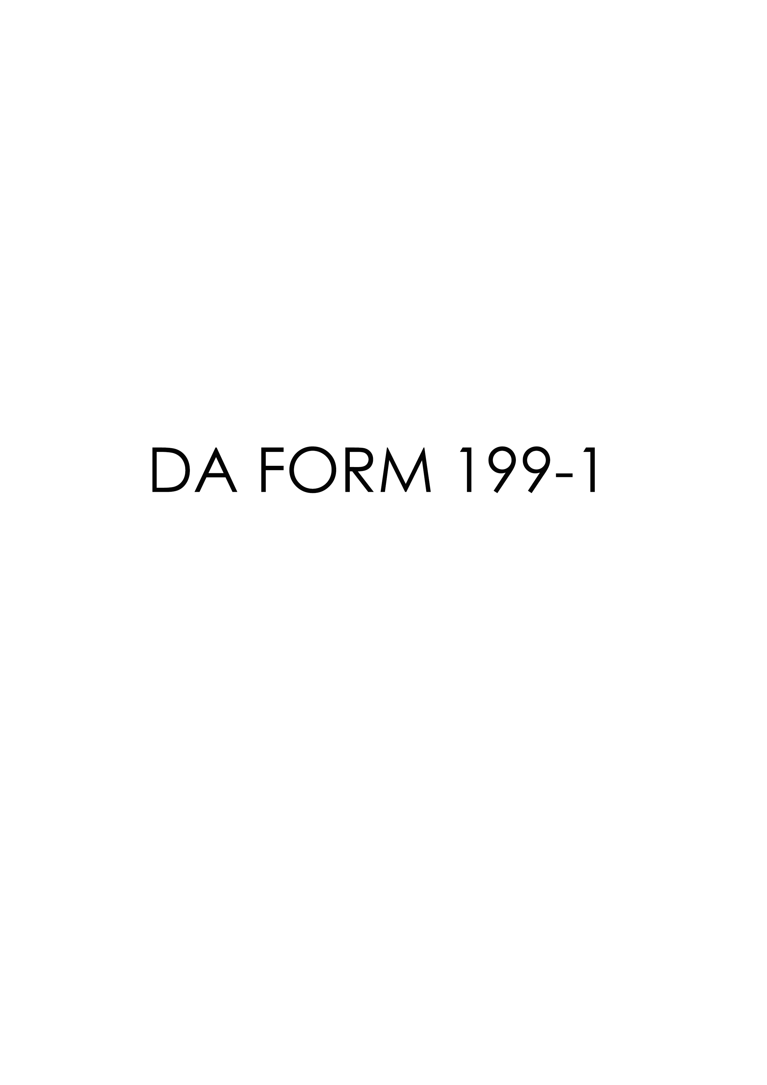 Download da Form 199-1 Free