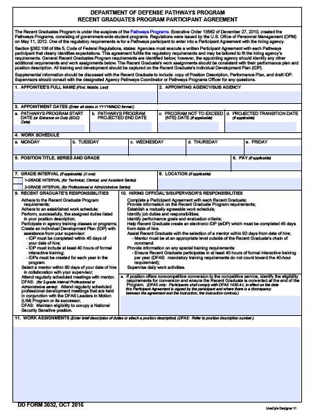 Download dd Form 3032 Free