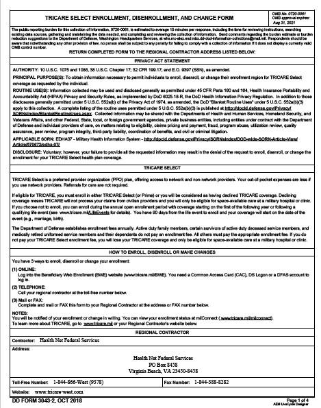 Download dd Form 3043-2 Free