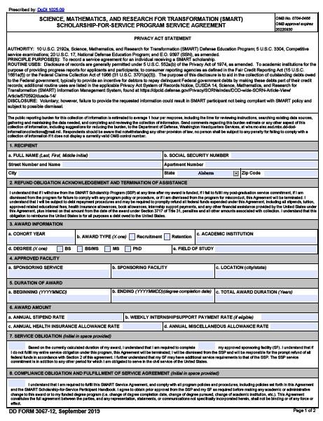 Download dd Form 3067-12 Free