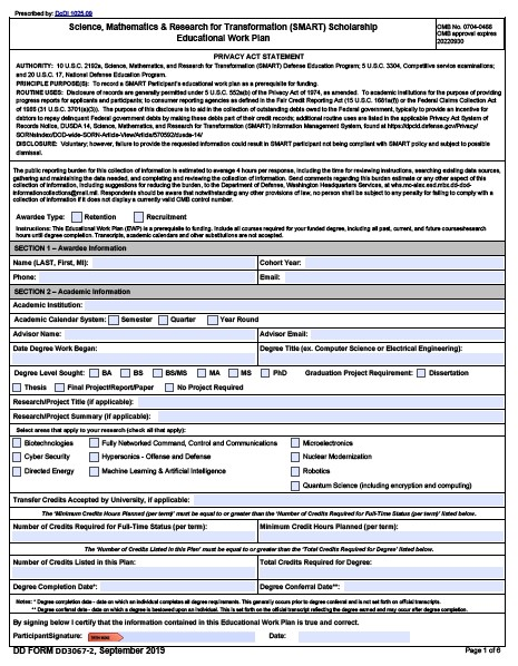 Download dd Form 3067-2 Free